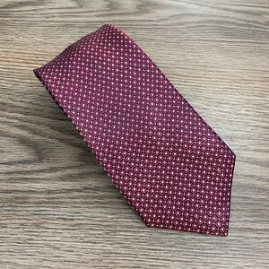 Nautica Red, Blue & Navy Check Tie